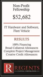 Non-profit financing graphic