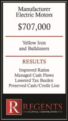 Manufacturing equipment financing graphic