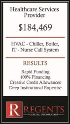 Healthcare financing graphic