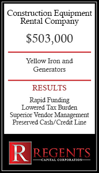 Construction Equipment financing graphic
