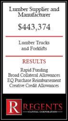 Lumber supply financing options
