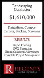 Landscaping farm equipment financing