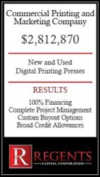 Regents Commercial Printing & Marketing Company graphic
